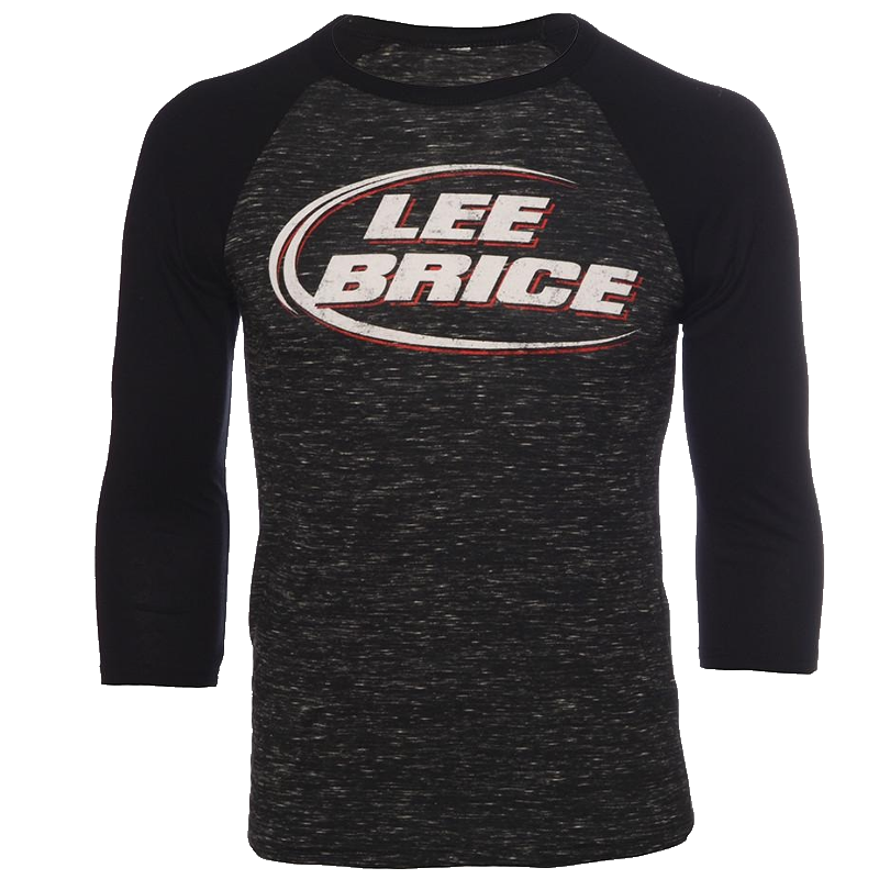 Lee Brice Black Marble Raglan Tee