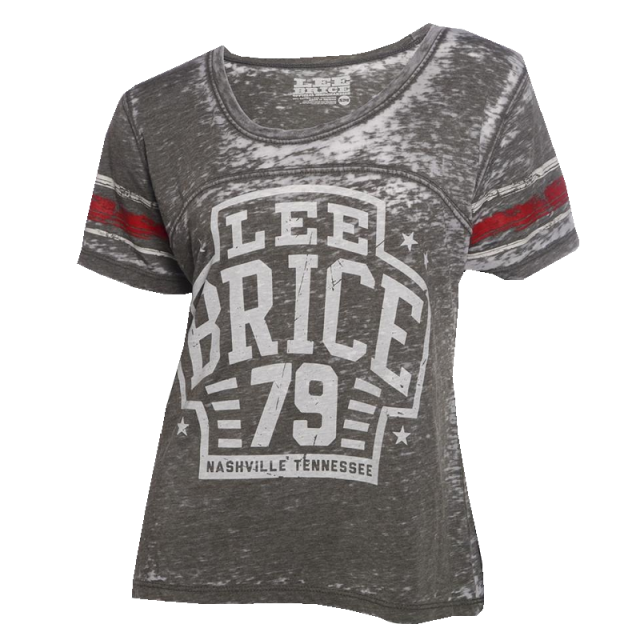 Lee Brice Ladies Grey Jersey