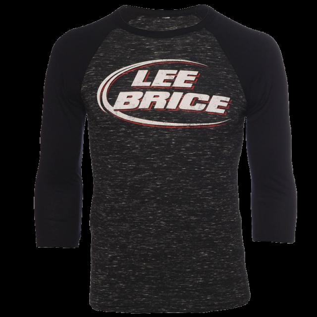 Lee Brice Black Marble Raglan Tee