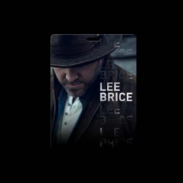 Lee Brice Interactive Souvenir Card
