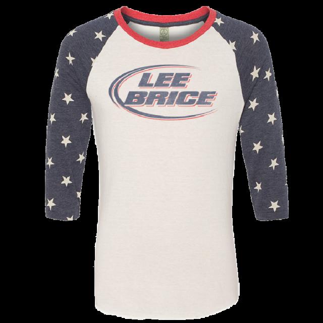 Lee Brice Stars Raglan Tee