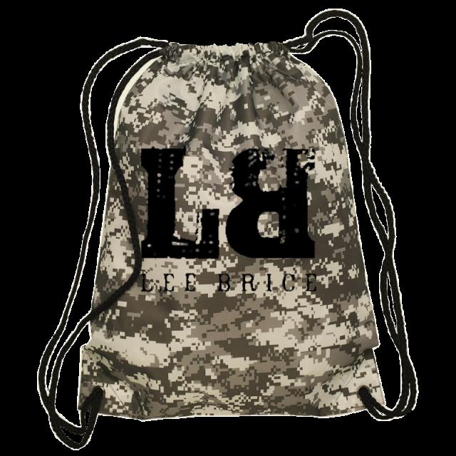 Lee Brice Digital Camo Drawstring Bag