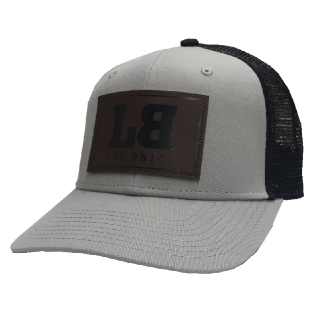 Lee Brice Grey and Black Ballcap